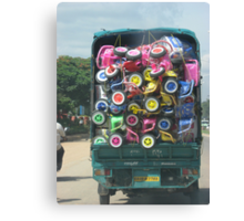 Colorful Load Canvas Print