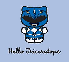 Hello Triceratops by AtomicDesignUS