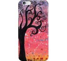 sunset storm iPhone Case/Skin