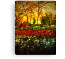 Autumn the Japanese Gardens 4 Canvas Print