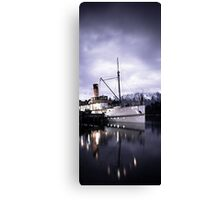 """TSS Earnslaw"" - Queenstown  Canvas Print"