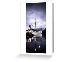 """TSS Earnslaw"" - Queenstown  Greeting Card"