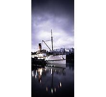 """TSS Earnslaw"" - Queenstown  Photographic Print"