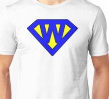 W letter Unisex T-Shirt