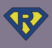 R letter Kids Tee