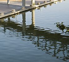 Shadows And Ripples On Water by Michael Redbourn
