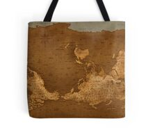 World Map - Upside Down Tote Bag