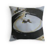 Zen fishing Throw Pillow