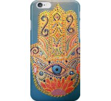 Evil Eye-Blue iPhone Case/Skin