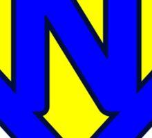 N letter Sticker
