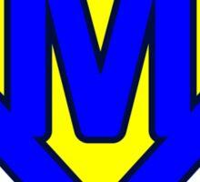 M letter Sticker