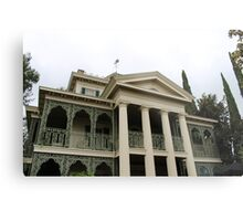 Haunted Haunted Mansion Metal Print