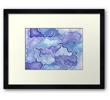 Elements - air Framed Print