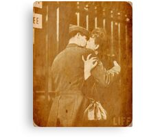 I Could Kiss You For Centuries Canvas Print