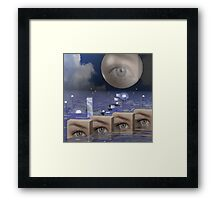 Seeing ultimate reality Framed Print