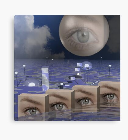 Seeing ultimate reality Canvas Print