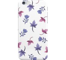 - Cute watercolor flower pattern - iPhone Case/Skin