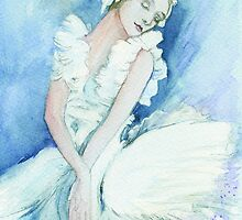Anna pavlova Swan Lake by morgansartworld