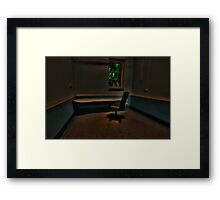 Are We Alone? - Tarban Creek Lunatic Asylum - The HDR Experience Framed Print
