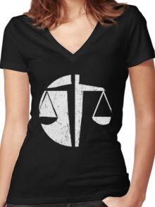 Candor - The Honest Women's Fitted V-Neck T-Shirt