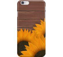 Delicate sunflower iPhone Case/Skin