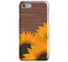 Delicate sunflower iPhone Case/Skin