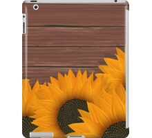Delicate sunflower iPad Case/Skin