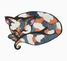Calico Kitty One Piece - Long Sleeve