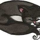 Tuxedo Kitty by Amy-Elyse Neer