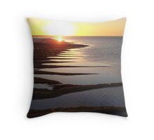 Hervey Bay Early Evening Throw Pillow