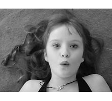 Being Girlie Photographic Print