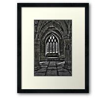 Chapter House - Valle Crucis Abbey, Llangollen Framed Print