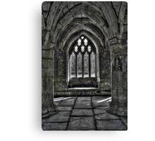 Chapter House - Valle Crucis Abbey, Llangollen Canvas Print