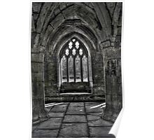 Chapter House - Valle Crucis Abbey, Llangollen Poster