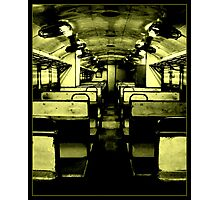 SPOOKY DMU TRAIN Photographic Print