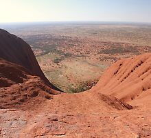 Long Way Down - Uluru, Central Australia by Matthew Lane