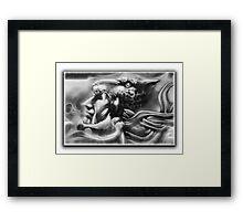 ©AeroArt Caballero Jaguar / Jaguar Warrior Monochrome Framed Print