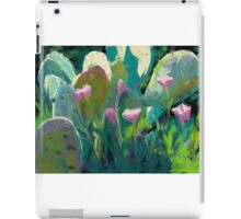 Cactus and California Poppies iPad Case/Skin
