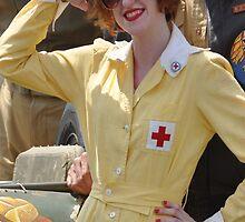WWII Nurse  by dbernadette930