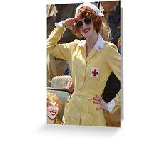 WWII Nurse  Greeting Card