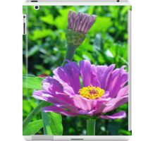 Blooming Purple Flowers iPad Case/Skin