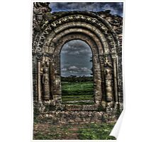 Haughmond Abbey Near Shrewsbury Shropshire Poster