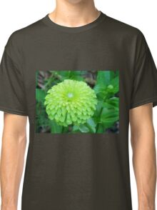 Lime Color Flower Classic T-Shirt