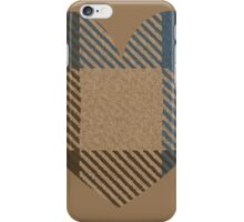 Outlander Heart Fraser Scottish Tartan iPhone Case/Skin