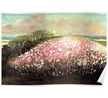 DREAMING FLOWER HILL Poster