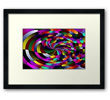 Flipz Colour Wheel Framed Print