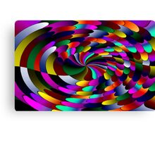 Flipz Colour Wheel Canvas Print