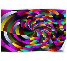 Flipz Colour Wheel Poster