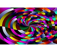 Flipz Colour Wheel Photographic Print