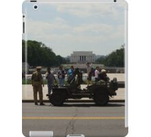 World War II Memorial - Atlantic and Pacific Theaters  iPad Case/Skin